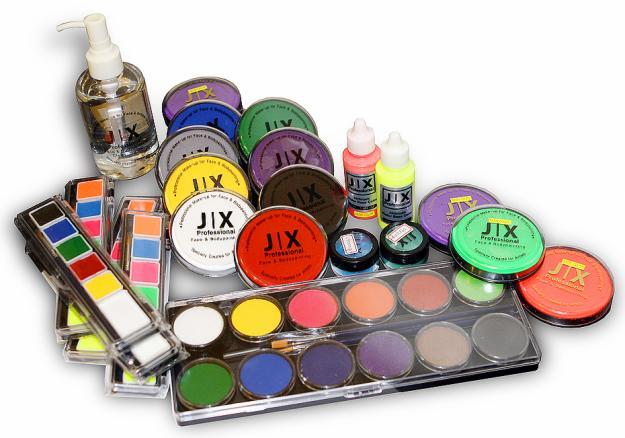 набор красок для раскрашивания тела