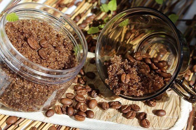 кофейно- солевая смесь