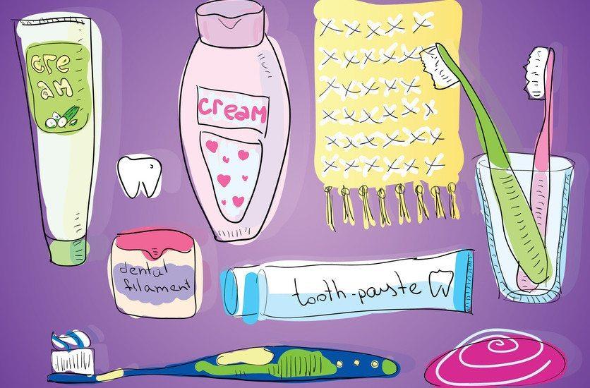 """домашний """"зубной набор"""""""