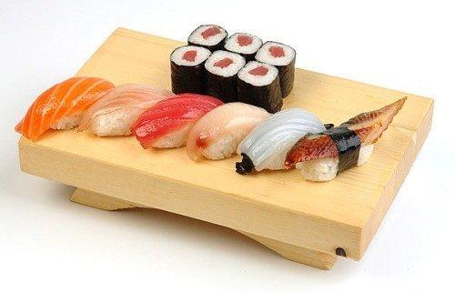 аппетитное японское блюдо
