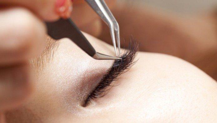процедура крепежа волосков