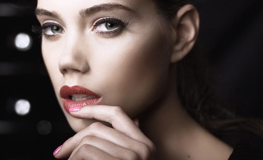 макияж для прямоугольного лица