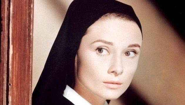 Audrey Hepburn без макияжа