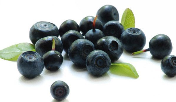 темно-синие ягодки