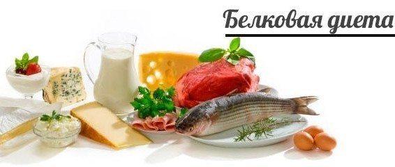белковое похудение
