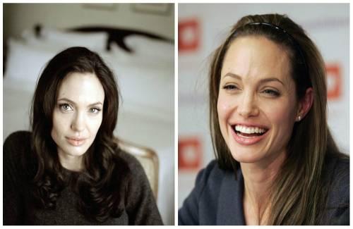 Angelina Jolie без make up