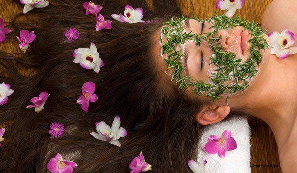 увлажняющая травяная маска