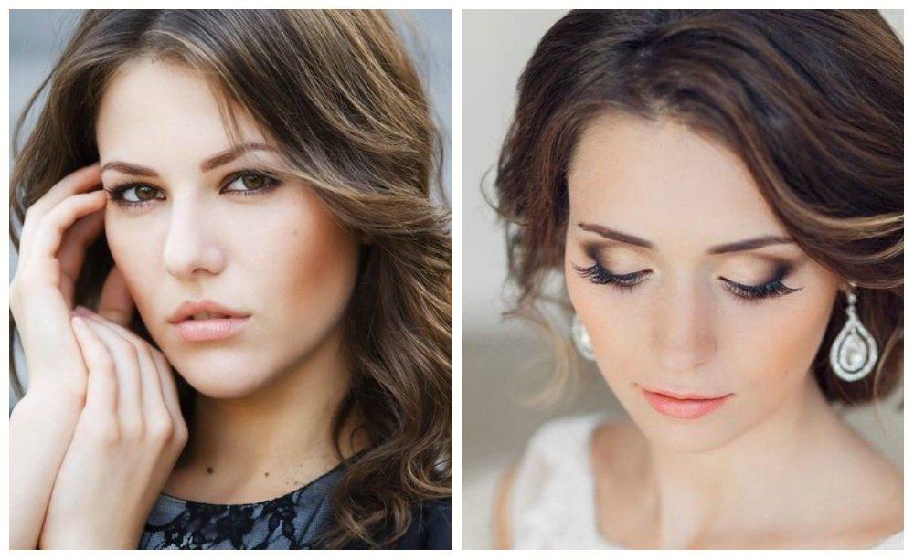 make-up для кареглазой выпускницы
