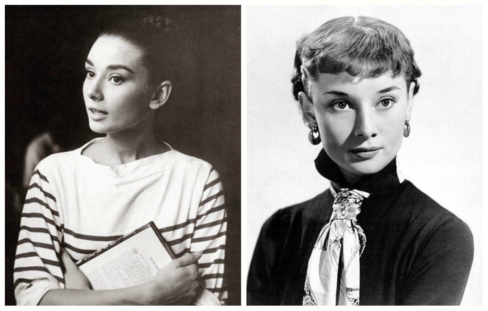 Audrey без мейк апа