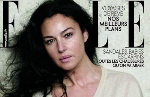 Monica Bellucci для ELLE