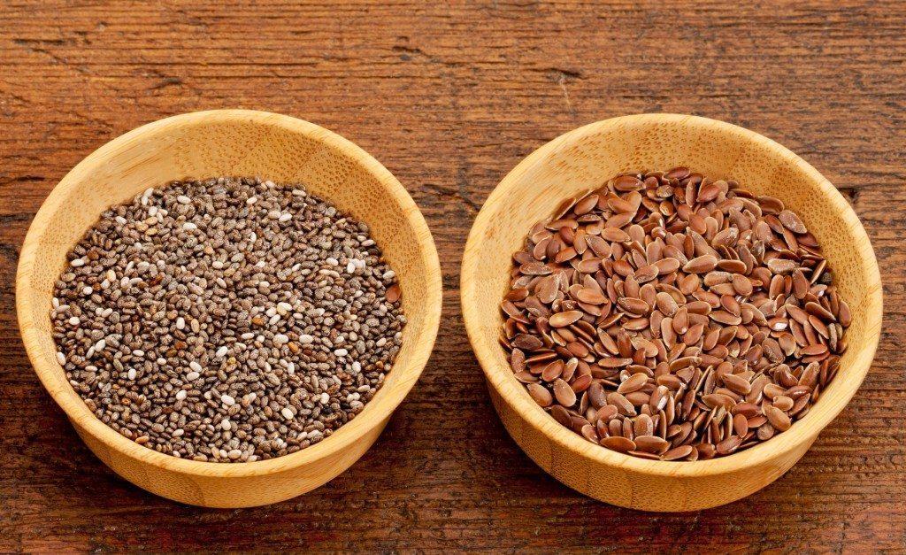 Семена чиа и семена льна сравнить