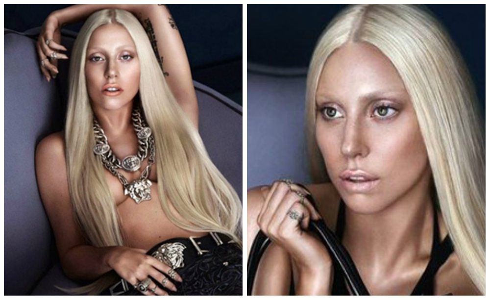 фотосессия для Versace