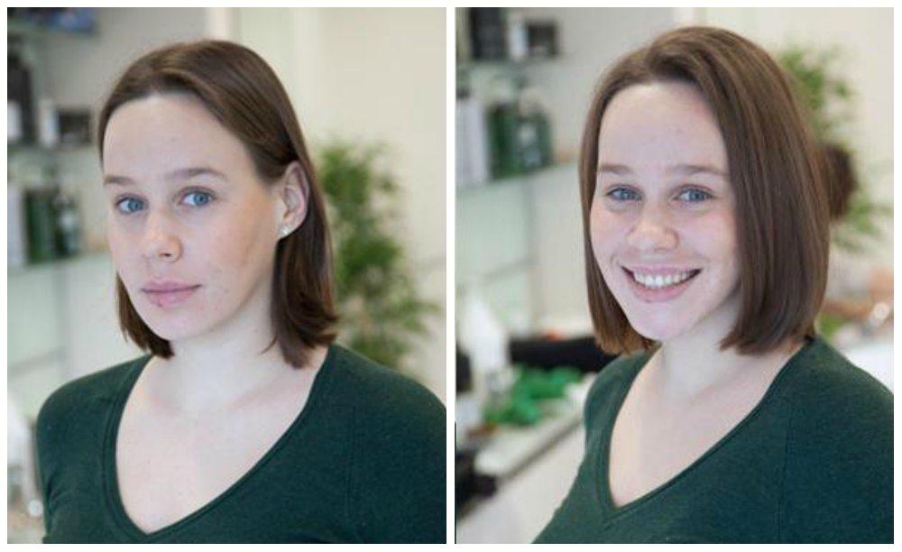 Буффант фото до и после