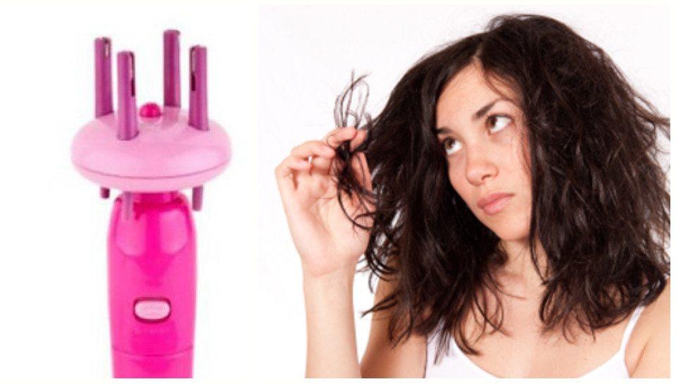 испорченные волосы у девушки