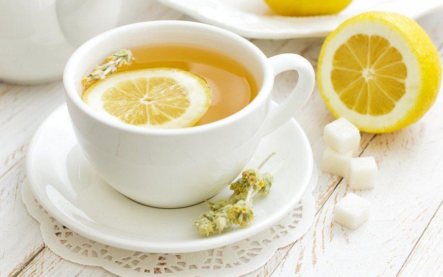 чай с лимончиком