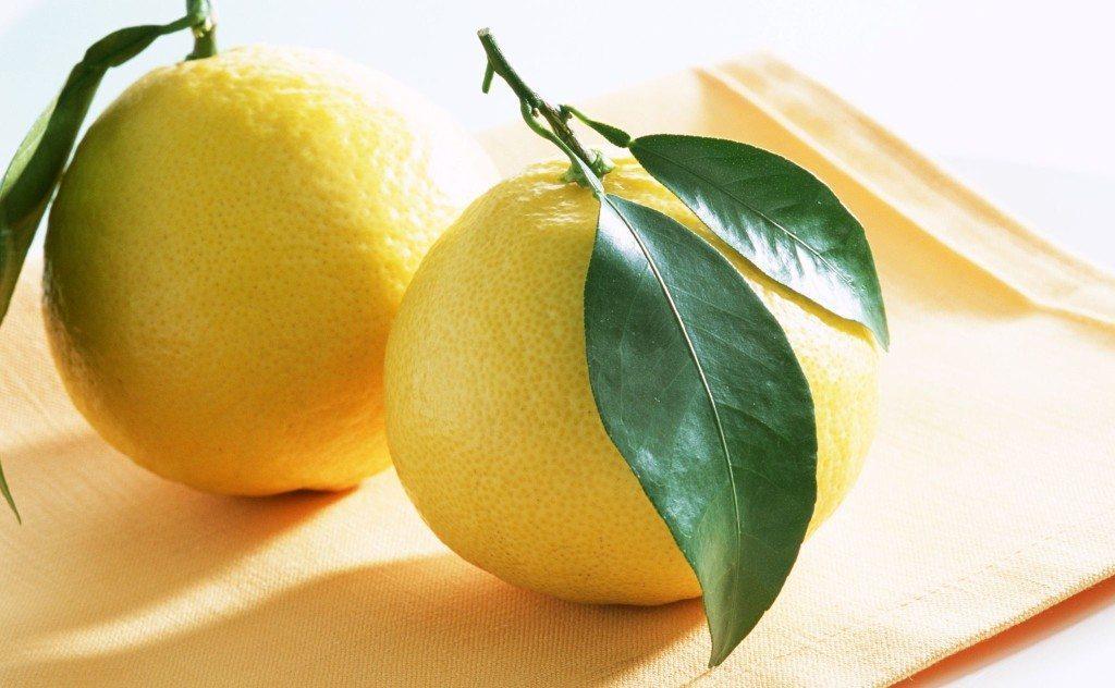 круглые лимончики
