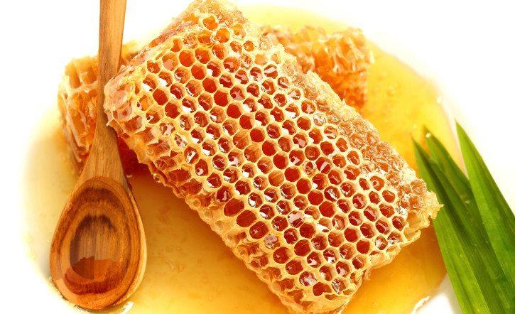 пчелиные соты и медок
