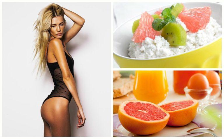 Диета на грейпфрутах и яйцах 7 дневная