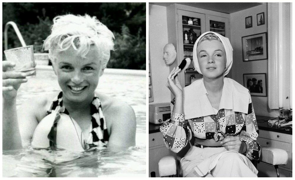старые фото Marilyn