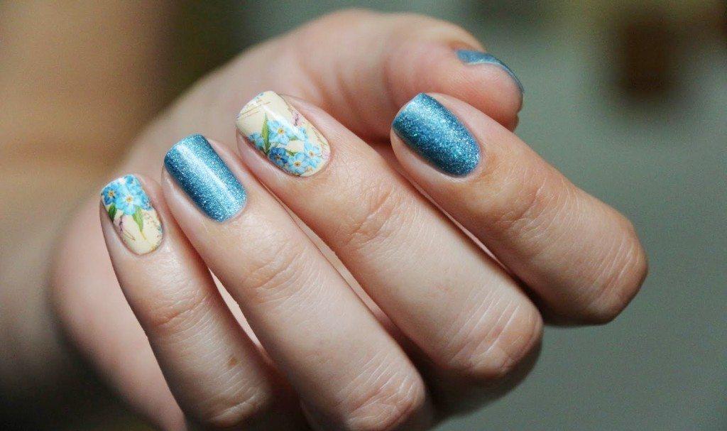 красивый nail art