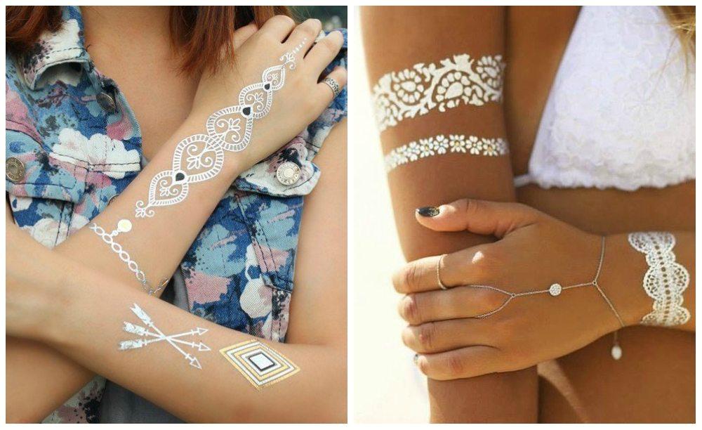 металлически татуировки на руках