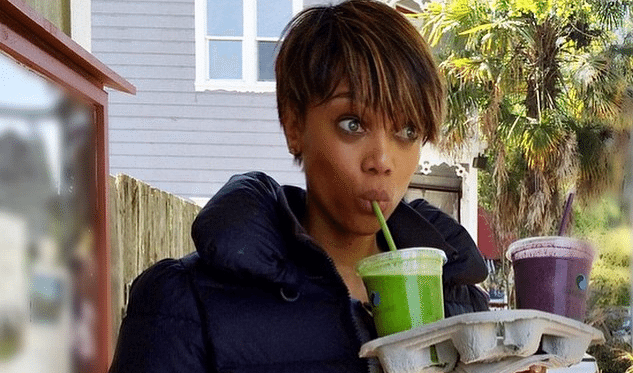 Tyra Banks без макияжа