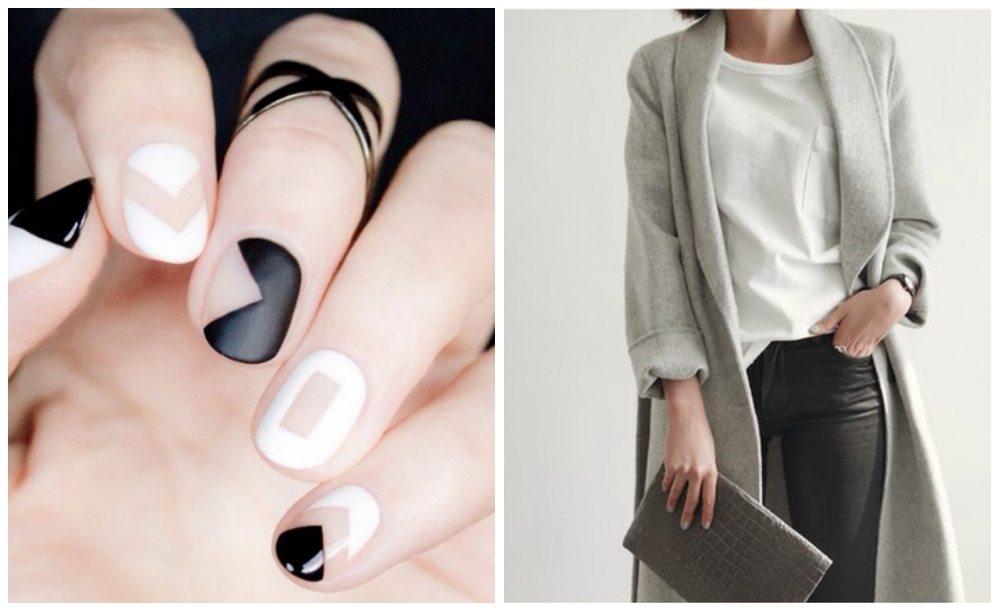 стильный черно-белый дизайн
