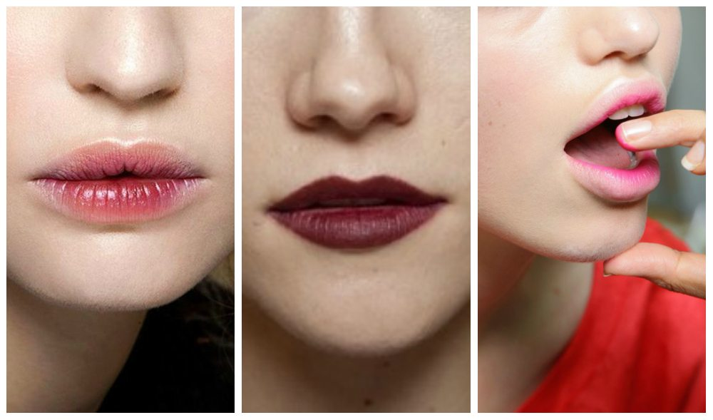 коррекция формы макияжем