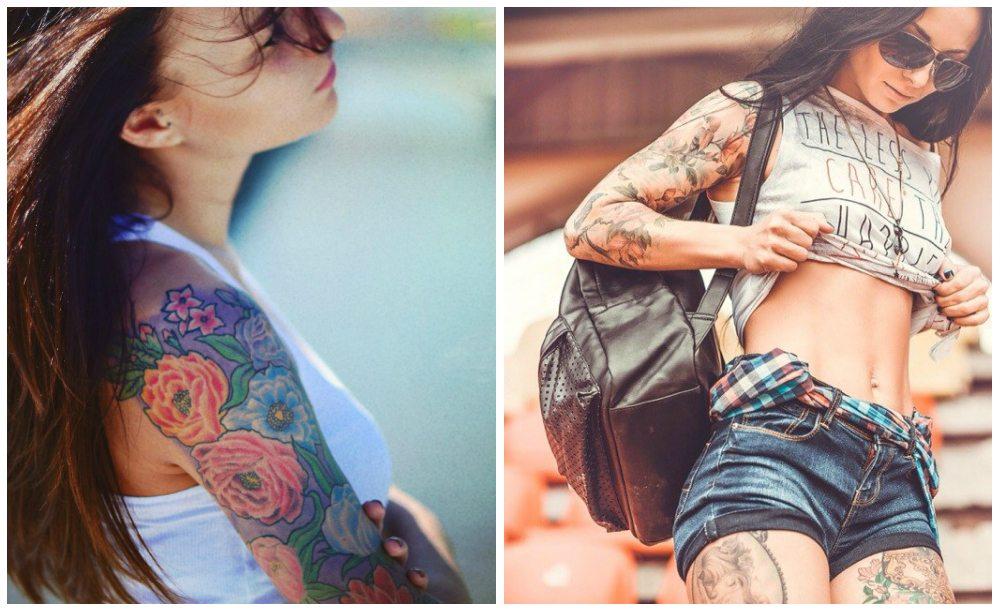 женские tattoo