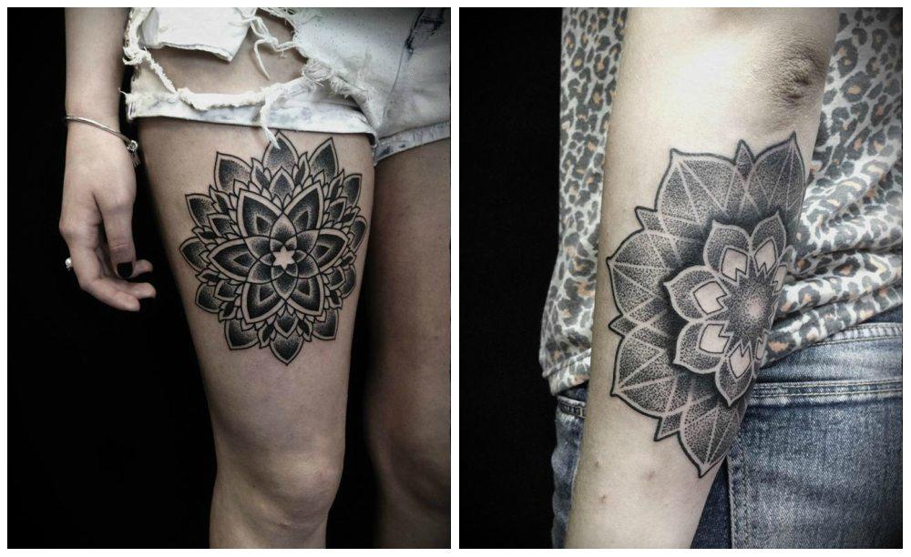 дотворк-татуировки