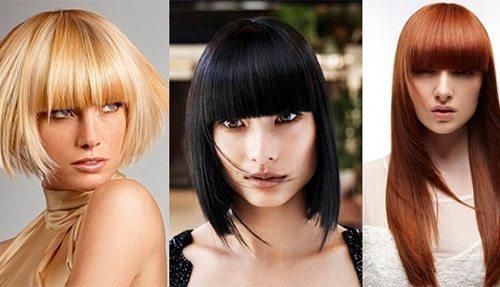 блондинка, брюнетка и шатенка