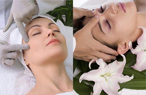 процедура shiatsu на лице