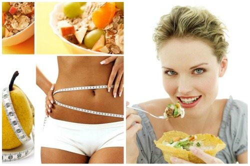 идеальный рацион низкокалорийной диеты