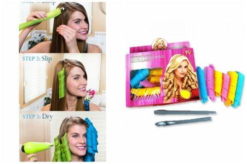 процесс накрутки hair wavz