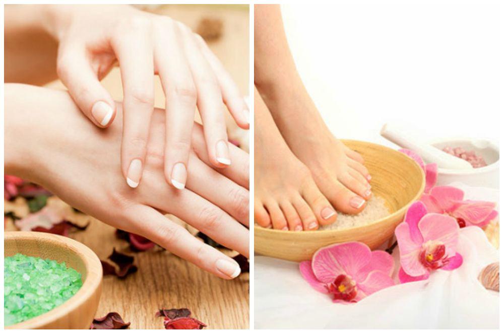 ванночки для ног и рук