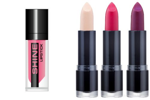 Stellary Shine Lipstick и Catrice Ultimate Colour Lipstick