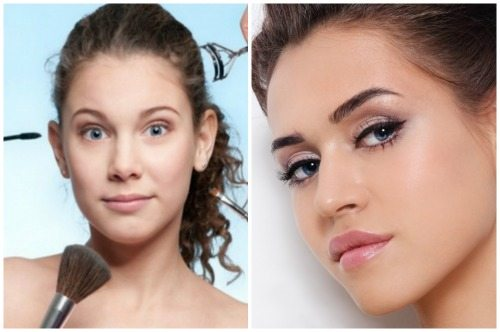 красивый make-up