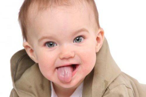 языкастый малыш