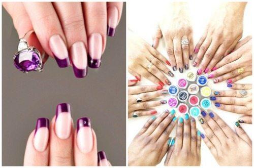 яркий nail дизайн