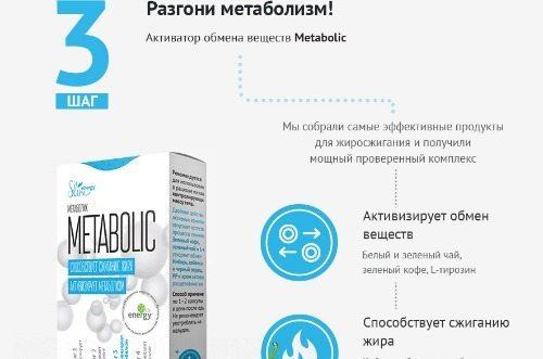 3 шаг- разгони метаболизм!