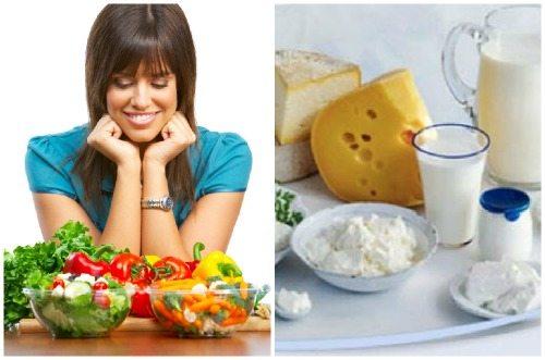 разрешенные продукты питания