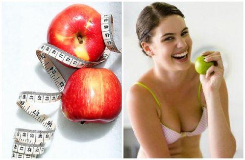 похудение с яблоками
