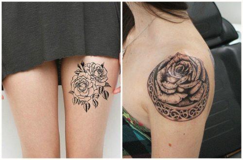красиво набитые розы