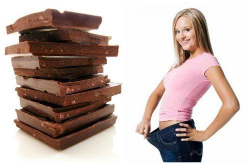 стройность с шоколадом