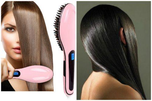 укращение непослушных волос