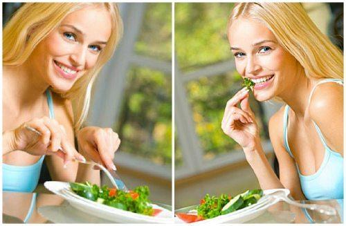 употребление свежего салата