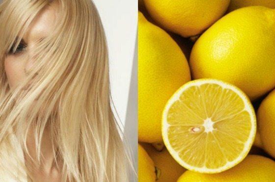 девушка с ярким блестящим блондом
