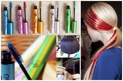 как пользоваться тушью для волос