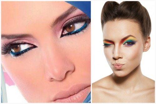 макияж для разных цветов глаз