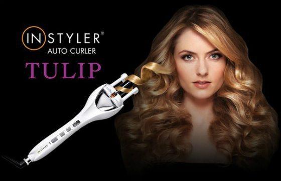 стайлер для завивки волос Instyler Tulip